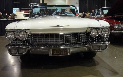 This 1960 Cadillac Eldorado Biarritz convertible sold for $75,000, not including fees, to a buyer on the Internet.