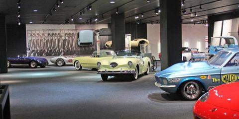 Various fiberglass vehicles are on display at the Petersen Automotive Museum through Oct. 3.