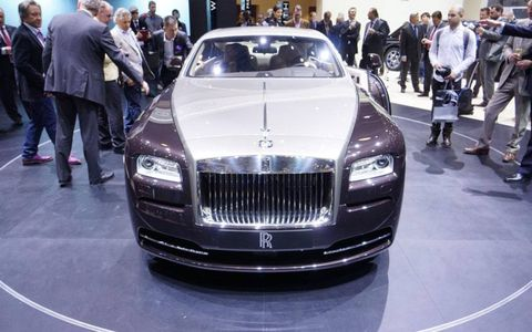 The Rolls-Royce Wraith will cost 245,000 euro overseas.