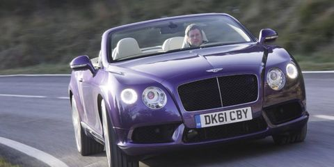 Bentley will still offer the W12 engine in the GTC if required.