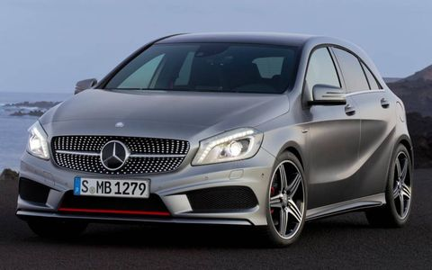 The new A-class is a direct competitor with the Audi A3.