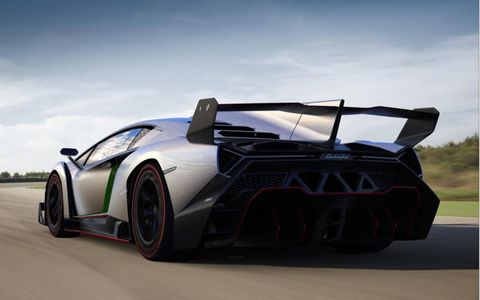 Just three Veneno models were available, and they are already taken;two sold to buyers in the United States.