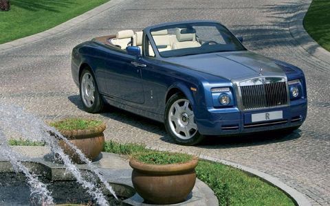 Driver's Log: 2009 Rolls-Royce Phantom Drophead Coupe
