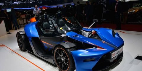 The KTM X-Bow GT is meant to act like an open-air race car.