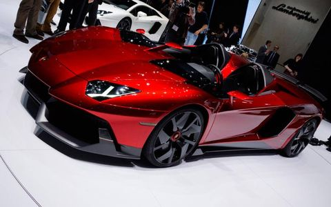 The one-off Lamborghini Aventador J is the Autoweek Editors' Choice Best in Show award winner for the 2012 Geneva motor show.