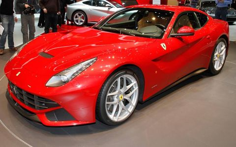 The V12-powered Ferrari F12 Berlinetta is our pick as Most Fun for the 2012 Geneva motor show.