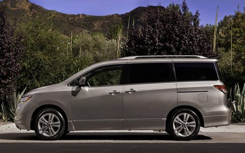 The 2011 Nissan Quest SL