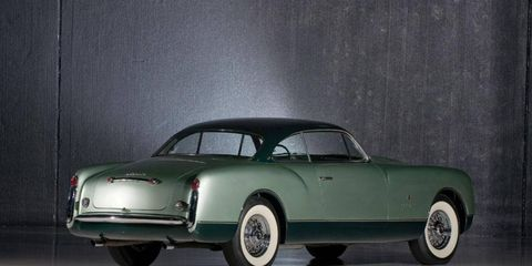 A one-off 1953 Chrysler coupe exceeded its sale estimate by more than $350,000.