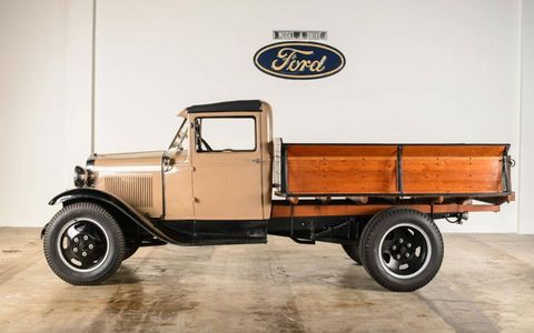 The 1931 Ford Model AA Meat Packer was a service car, designed for, you guessed it: the meatpacking industry.