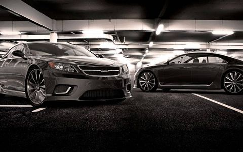 Gray Design took its shot at the future of the Saab 9-3.