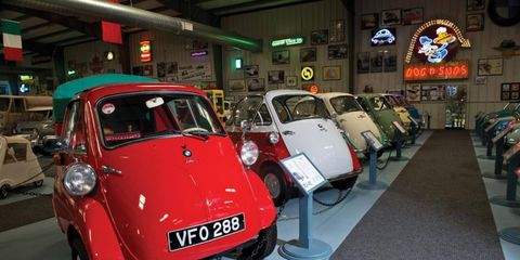 BMW's Isetta is one of the more commonly known micro cars