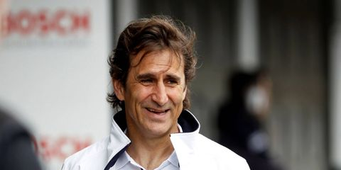 Zanardi is a racing driver and paracyclist. He won the CART championship in 1997 and 1998 in North America and raced in Formula 1.