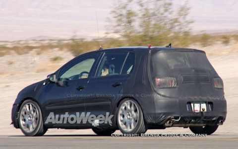 Spied: VW Rabbit GTI