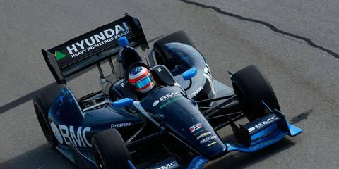 Rubens Barrichello gets some early season training at Sebring.