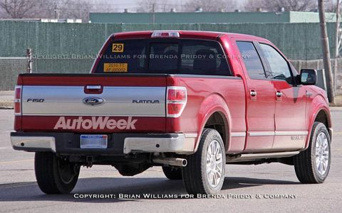 Spied: New Lincoln Mark LT