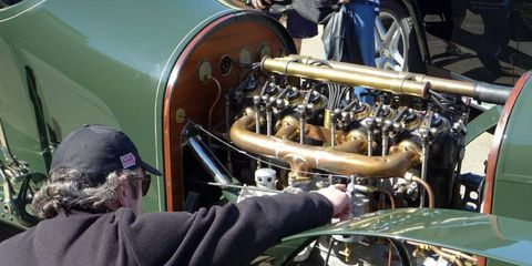 Mercedes-Benz Classic mechanics not only restored the 1910 Benz 21/80 Prinz Heinrich car: They worked to rediscover the proper starting and driving procedures.
