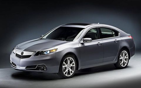 The 2012 Acura TL