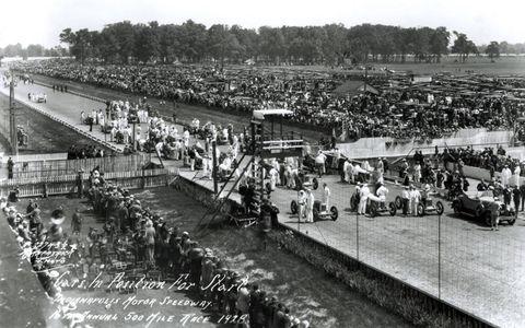1928: Starting Field