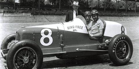 1936: Winner Lou Meyer