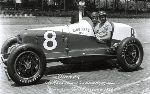 1936: Winner Lou Meyer