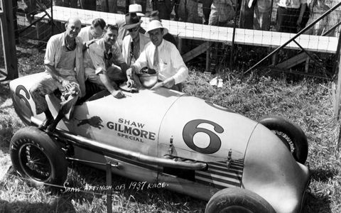 1937: Winner Wilbur Shaw