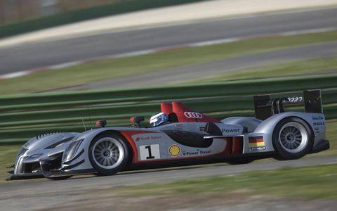 Audi R15 race car