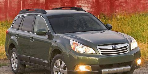 Driver's Log Gallery: 2010 Subaru Outback