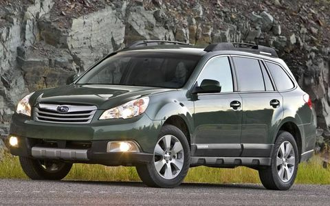 Driver's Log Gallery: 2010 Subaru Outback