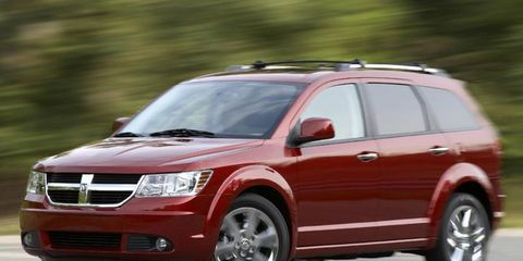 Driver's Log Gallery: 2010 Dodge Journey R/T