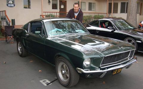 Dave Kunz and his Bullitt.