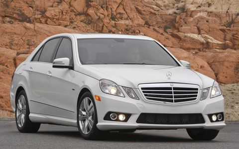 The 2013 Mercedes-Benz E350 Bluetec is capable of 35 mpg on the highway with an overall fuel economy of 26 mpg.