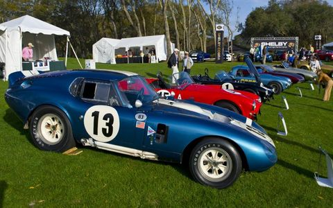 This 1964 Cobra helped mark 50 years of Shelby American