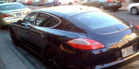 Spied: Porsche Panamera