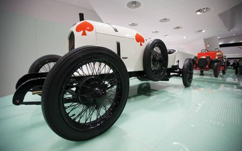 The Austro-Daimler Sascha of 1922 didn't look like much, but she had it where it counted.