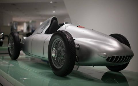 The AWD 360 Cisitalia was perhaps the most advanced racer of its day. Lack of funds and rule changes meant it never saw actual Grand Prix competition.