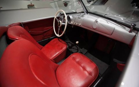 """Apparently, """"spartaneous"""" is an overly-engineered Germanglish word meaning """"spartan."""" It certainly applies to the simple interior of the Gmünd 356 #1."""
