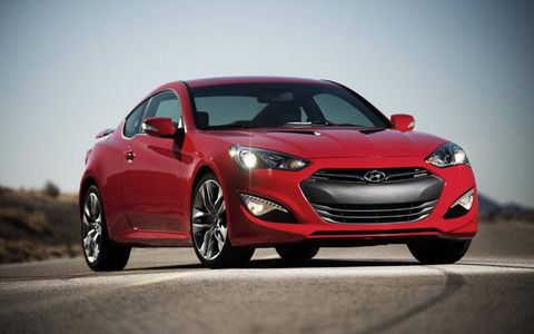 The looks of the Hyundai Genesis Coupe 2.0T R-Spec are crisp and clean, giving it an aggressive appearance.