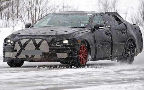 This could be the 2011 Jaguar XJ.