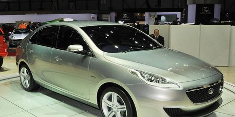 Pininfarina penned the Prima sedan concept for Indian carmaker Tata. The Focus-sized car is expected to go into production in about two years. Tata seeks the Prima as a way to boost public opinion of its cars.
