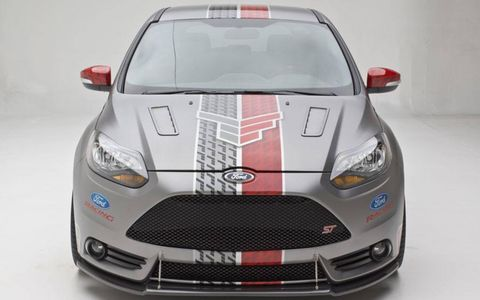 The Tanner Foust Ford Focus ST bumps output to 300 hp and 380 lb-ft of torque.