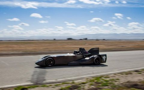 The DeltaWing will be powered by Nissan.