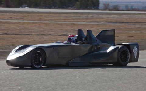 The DeltaWing has been testing in California.