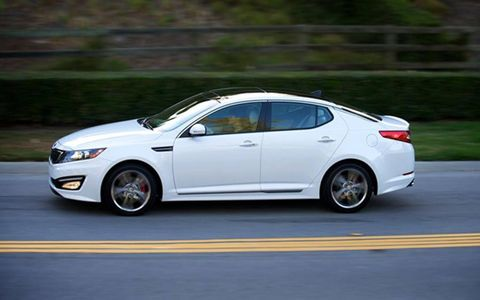 The as-tested price for our 2013 Kia Optima SXL tester was $35,275, that was a hard number to swallow.