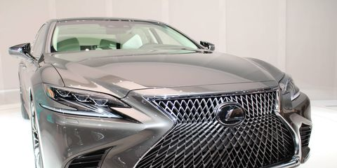 The 2018 Lexus LS goes on sale late this year.