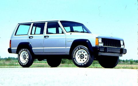 The 1984 Cherokee was the first unibody four-door sport utility vehicle
