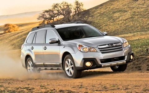 The continuously variable transmission is not  well matched for the 2013 Subaru Outback 2.5i Limited.