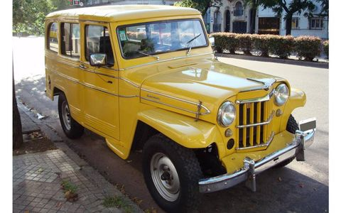 Kaiser Industries built Jeeps in Argentina when Pope Francis was a young man.