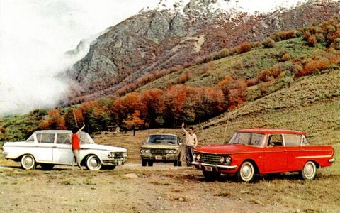 Renault's Rambler was another popular car in Argentina during Jorge Mario Bergoglio's youth.