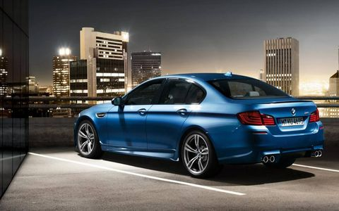 The 2013 BMW M5 offers M Servotronic, allowing the steering dynamics to change depending upon the vehicles speed.