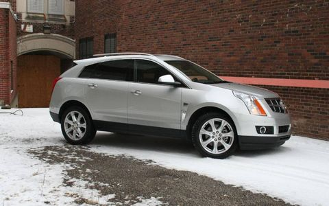 Driver's Log Gallery: 2010 Cadillac SRX Turbo